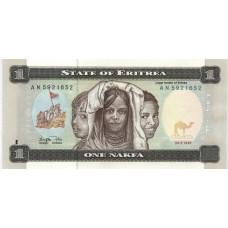 1 накфа 1997 г. Эритрея