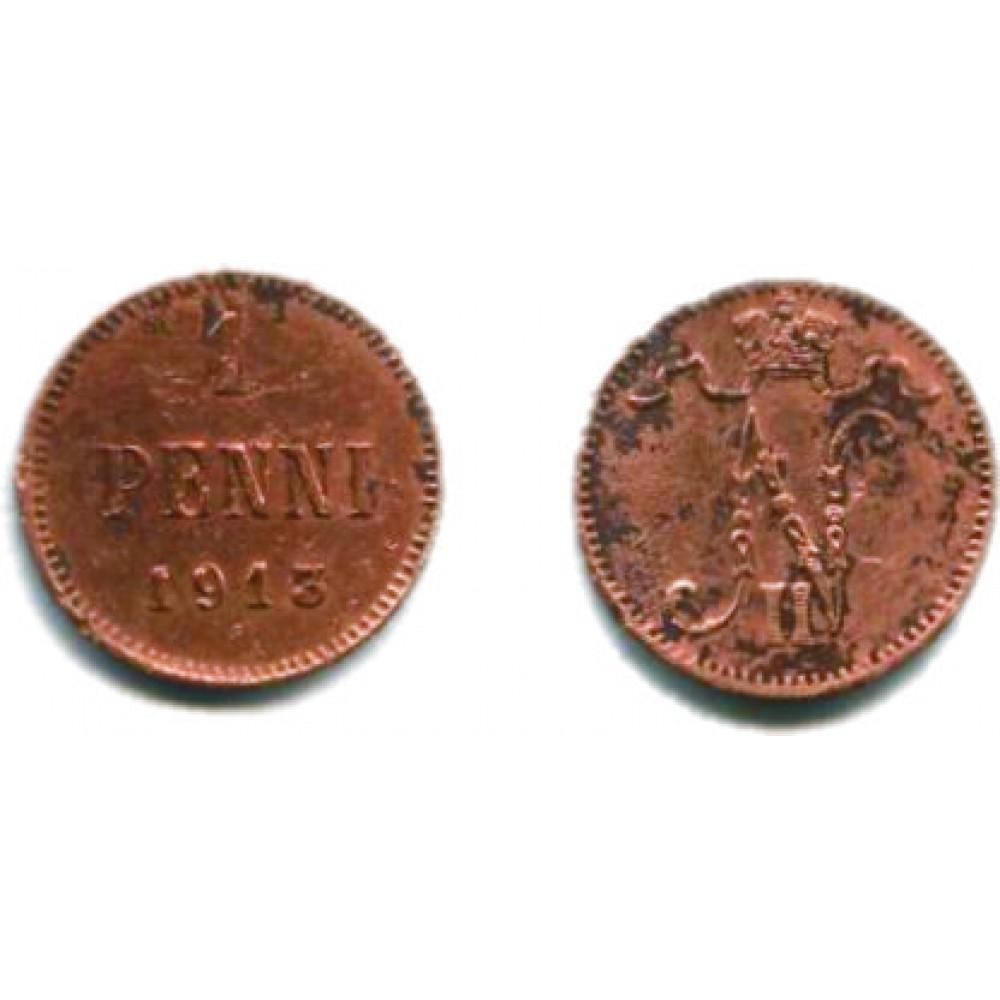 1 пенни 1913 г.