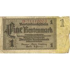 1 марка 1937 г. Германия