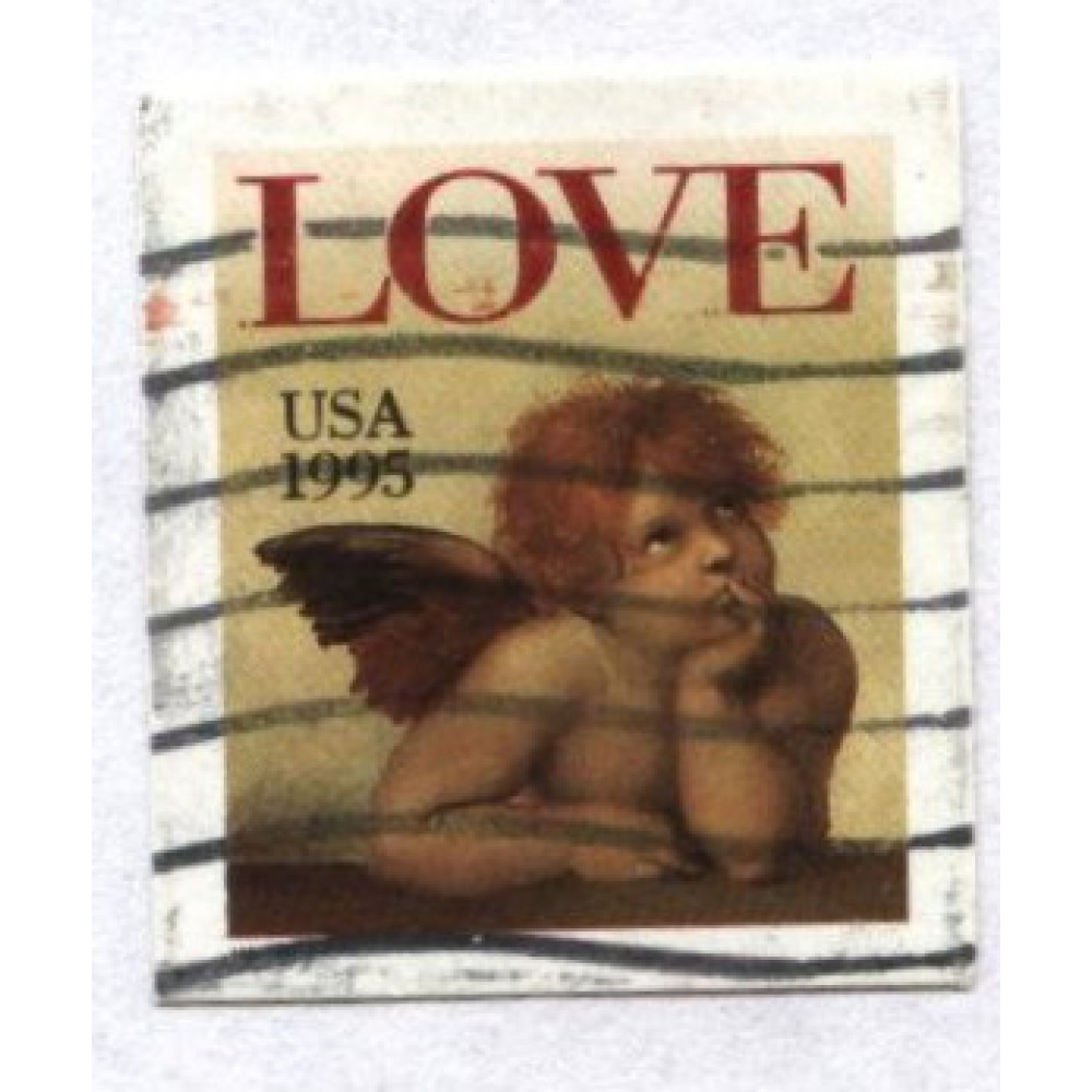 марка 1995 г. США
