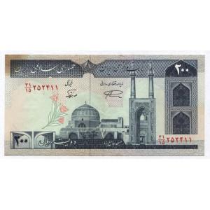 200 риалов 1982 г. Иран