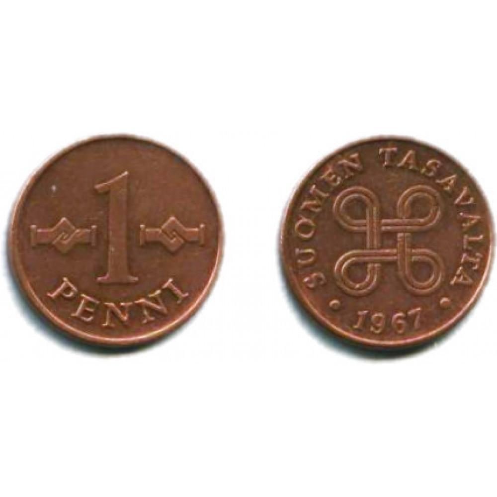 1 пенни 1967 г.