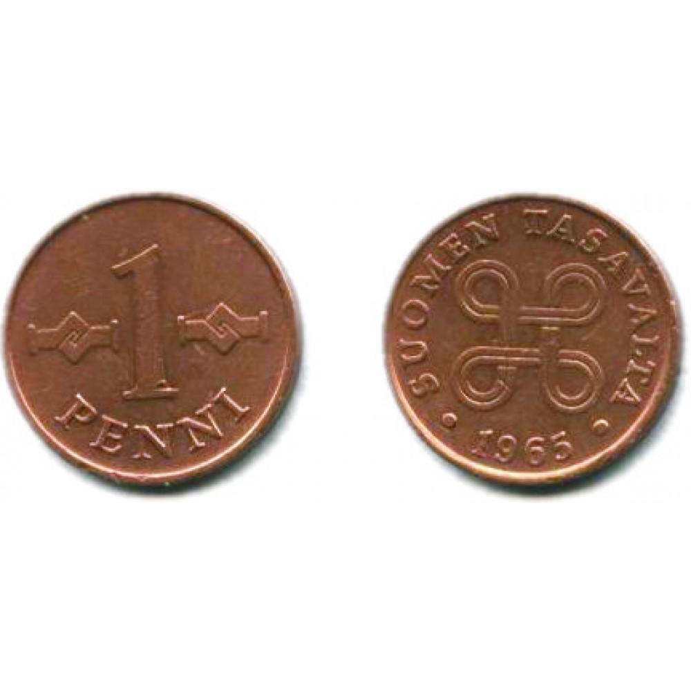 1 пенни 1965 г.