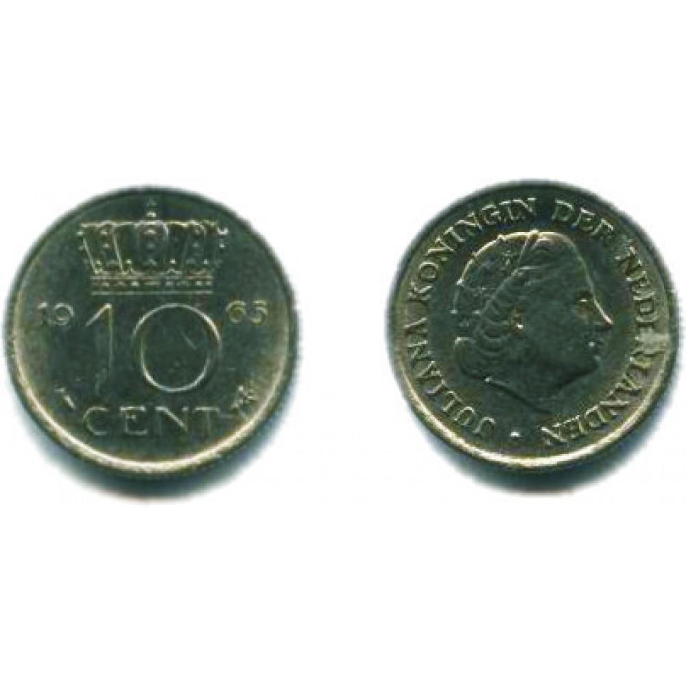 10 центов 1965 г.
