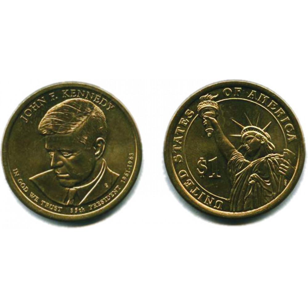 1 доллар 2015 г. Кеннеди