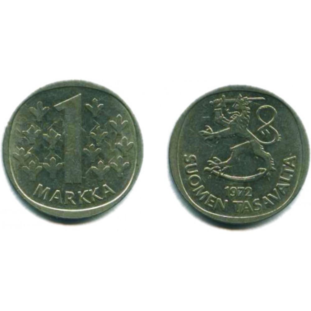 1 марка 1972 г.