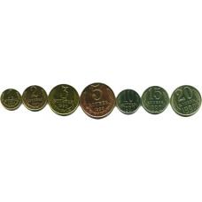 Подборка монет СССР 1990 г.