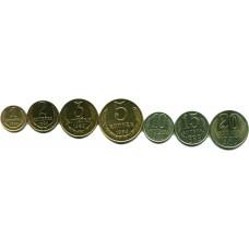 Подборка монет СССР 1989 г. 7 шт