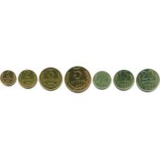 Подборка монет СССР 1983 г. 7 шт